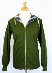 Mallard Retro 70s Indie Zip Through Anorak (G)