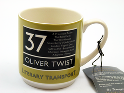 Oliver Twist - Literary Transport Retro Mug