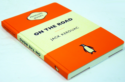 'On The Road' Kerouac Retro Penguin Travel Journal