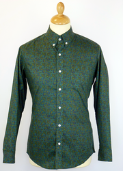 'Freak Out Ethel' - Retro 60s Paisley Mod Shirt G