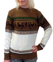Love Reindeer O'er Me - Retro 70s Christmas Jumper