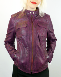 Casino MADCAP ENGLAND Retro 70s Leather Jacket B