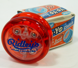 Yo-Yo with Clutch RIDLEYS Retro Light & Sound YoYo