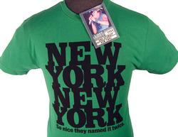 'New York' - ROD STEWART Lost Property T-Shirt