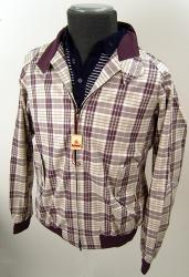 BARACUTA- Sixties Mod Rose Check Slimfit G9 Jacket
