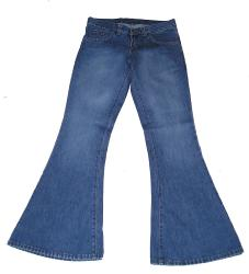'Rock Flare' - Retro Seventies Denim Flares
