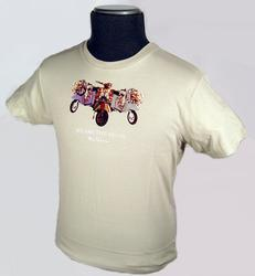 'Mods' - Retro Mod Scooter T-Shirt by BEN SHERMAN