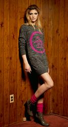 'Scooter Dress'- Sweater Dress by ORIGINAL PENGUIN