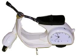 'Clock the Scooter'