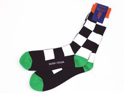+ Arden SCOTT-NICHOL Retro Mod Checkerboard Socks