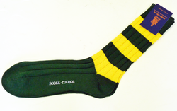 +Scott Nichol Cambridge Retro Mod Rugby Socks (C)