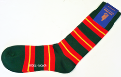 +Scott Nichol Retro Mod Multi Stripe Mens Socks CR