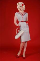 'Spice' - Retro Fifties Dress by BETTIE PAGE
