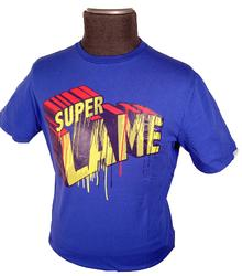 'Super Lame' - Retro Indie Mens T-Shirt by FLY53