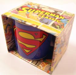 SUPERMAN MUG SUPERMAN CARTOON CUP RETRO GIFTS GIFT