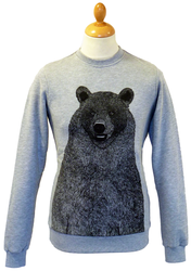 Mont Bar SUPREMEBEING Retro 70s Indie Bear Jumper