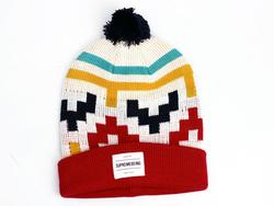 Hollis SUPREMEBEING Retro 70s Bobble Hat (OW)