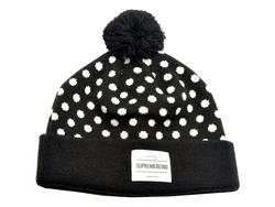 London SUPREMEBEING Retro Polka Dot Bobble Hat B