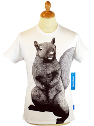 Ardilla Karate SUPREMEBEING Retro 70s Squirrel Tee