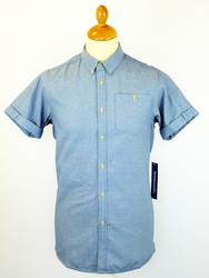 Demode SUPREMEBEING 70s Indie 2-Tone Canvas Shirt