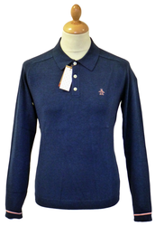 Turn it Loose ORIGINAL PENGUIN Retro Mod Knit Polo