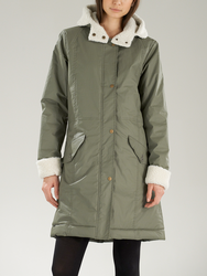 Shelter SUPREMEBEING Women's Mod Retro Parka Coat