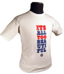 'Its All Too Beautiful' - Retro Mod Indie T-Shirt