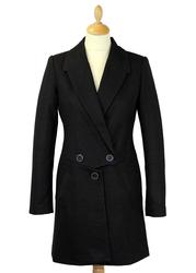 TRAFFIC PEOPLE Retro 1950s Style Top N Tails Coat