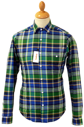 Eastbound TukTuk Retro 60s Mod Multi Check Shirt