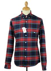 Larry Tartan TUKTUK Retro Mod Flannel Check Shirt