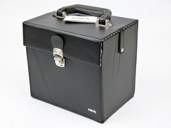 45rpm TukTuk Retro Sixties Mod Record Box (Black)