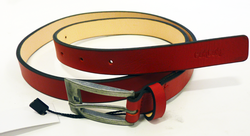 'Slim Jim' TukTuk Retro Indie Mod Red Skinny Belt