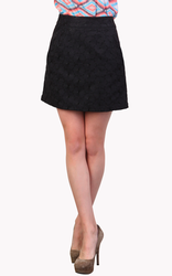 Claudine TULLE Retro Mod Sixties Pencil Skirt