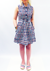 TULLE Retro Fifties Vintage inspired Shirt Dress