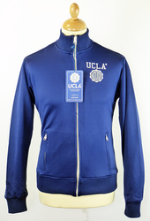 Lancaster UCLA Retro Indie Funnel Neck Track Top