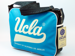 Woods UCLA Retro 70s Indie Airline Shoulder Bag BB