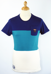 Jerome UCLA Retro Indie Colour Block T-Shirt (TWB)