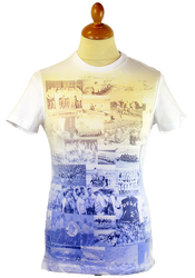 Penton UCLA Retro Photo Collage Vintage T-shirt