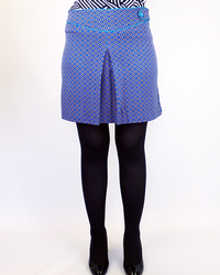 Doni VILA JOY Retro Sixties Mod Mini Skirt (C)