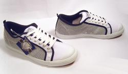 'Preppy Mesh' - Mens Retro Trainers by NANNY STATE