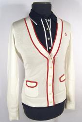 'Round The Bend' - Retro Mod Cardy by PENGUIN (W)