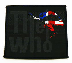 The Who Leap Logo Retro 60s Mod Union Jack Patch