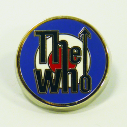 The Who Retro 60s Mod Target Small Metallic Badge