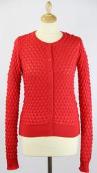 Snapper WHO'S THAT GIRL Mod Scallop Knit Cardigan