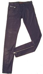 'Siouxsie' - Super Skinny Zip Jeans by BEN SHERMAN