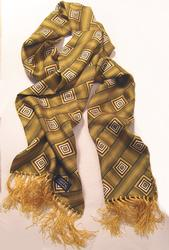 TOOTAL SCARF - Geoprint in Yellow