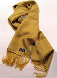 TOOTAL SCARF - Gold Pin Dot