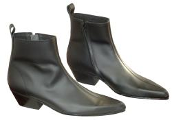 'Chelsea Boots' - Full Seam Zip Cuban Beatle Boots