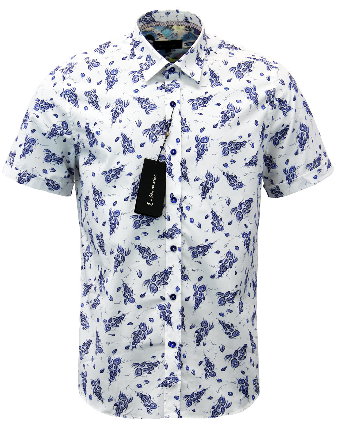 Barnet 1 LIKE NO OTHER Floral Sea Creature Shirt