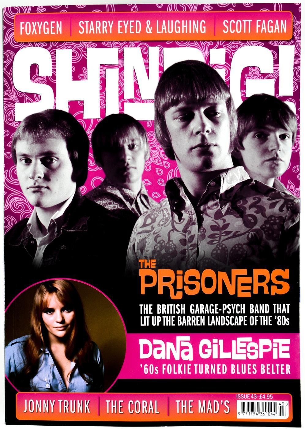 + SHINDIG! MAGAZINE - Issue 43 The Prisoners